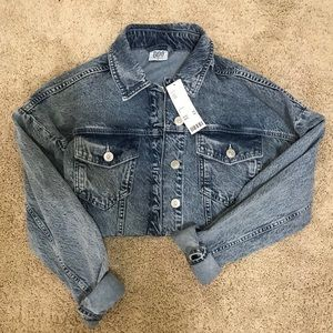 NWT Urban Outfitters BDG Cropped Denim Jacket